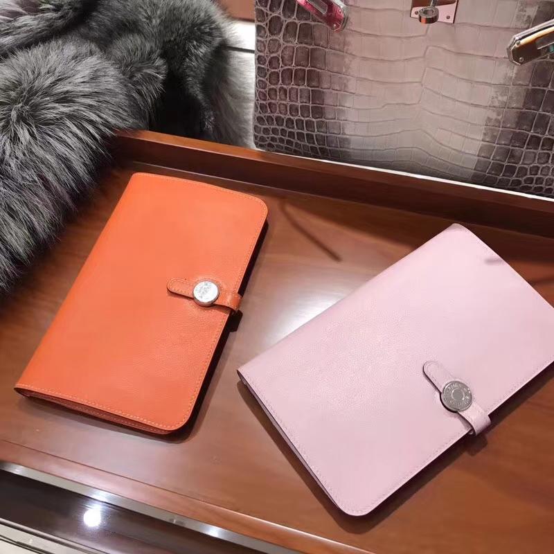 Constance 钱包 Wallet Swift CK93 经典橙色 Orange/rosesakura水粉色3q
