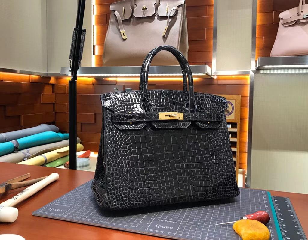 89黑色 Noir 爱马仕 HERMES 铂金包 Birkin 配全套专柜原版包装 全球发售