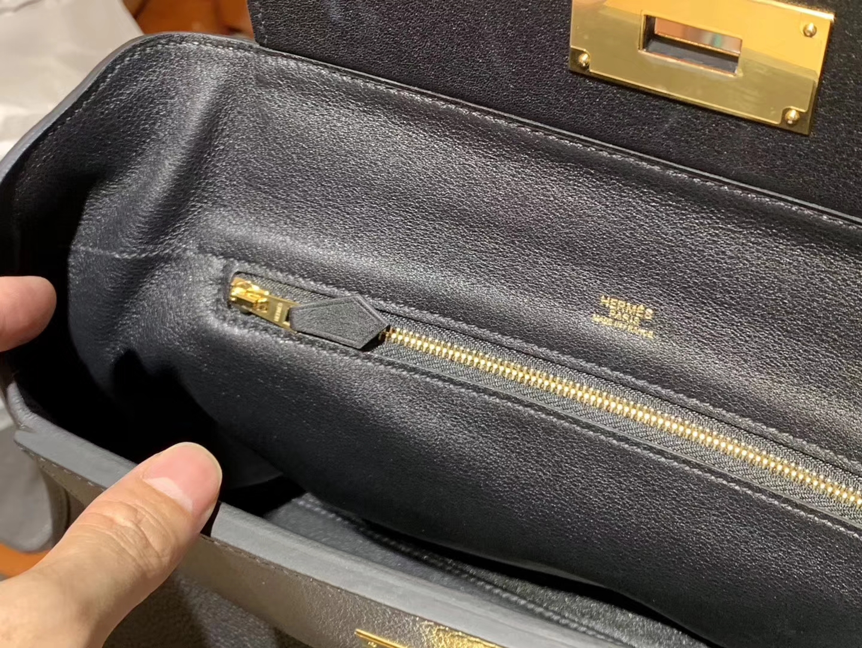 HERMES 爱马仕 kelly24/24 nior ck89 黑金接受订单