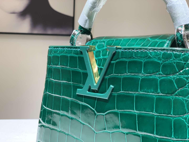 Alligator 美洲鳄 路易威登 经典小V 顶级品质 欢迎定制