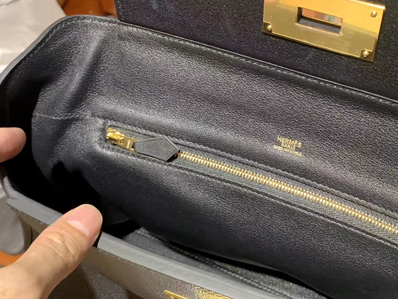 HERMES 爱马仕 kelly24/24 黑色 接受订单