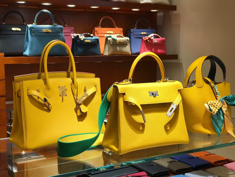 爱马仕 HERMES 铂金包 Birkin 25cm 30cm 琥珀黄 配全套专柜原版包装 全球发售