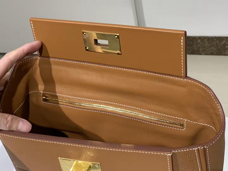 HERMES 爱马仕 kelly24/24  金棕色 接受订单