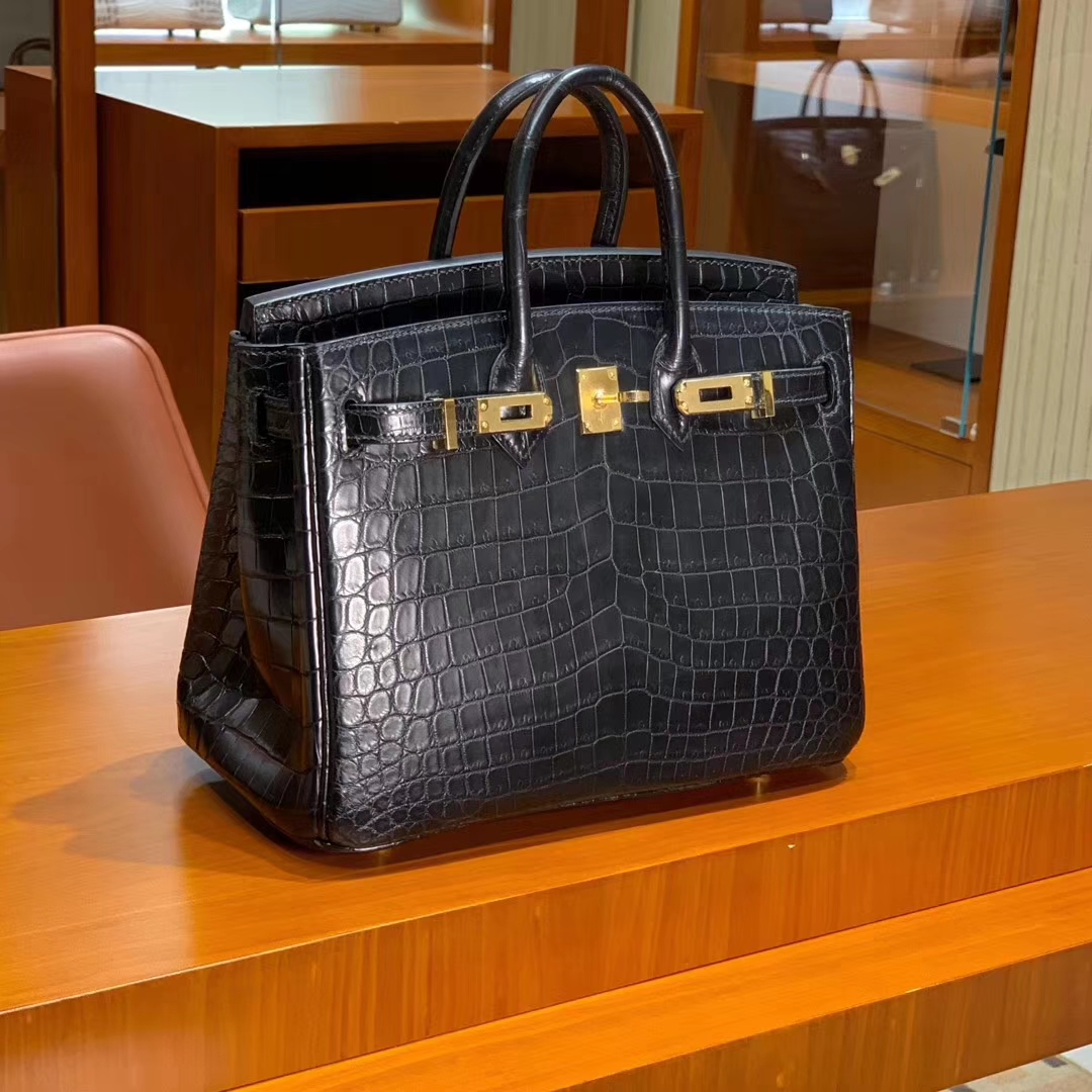 爱马仕 HERMES Birkin 铂金包 25cm 30cm 鳄鱼皮 配全套专柜原版包装 全球发售